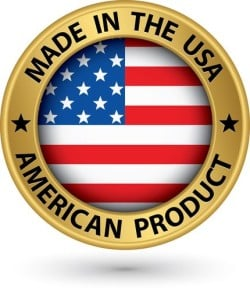 All products made in the USA