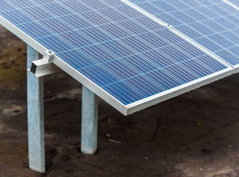 Green Eco Solutions Solar PV standard ground mount