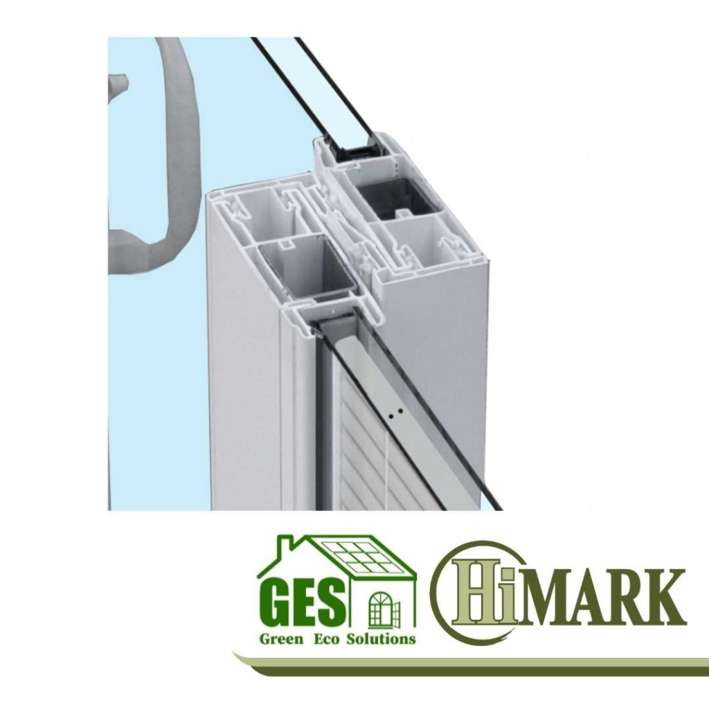 HiMark Quadruple Weather-Stripping for patio door with Green Eco Solutions