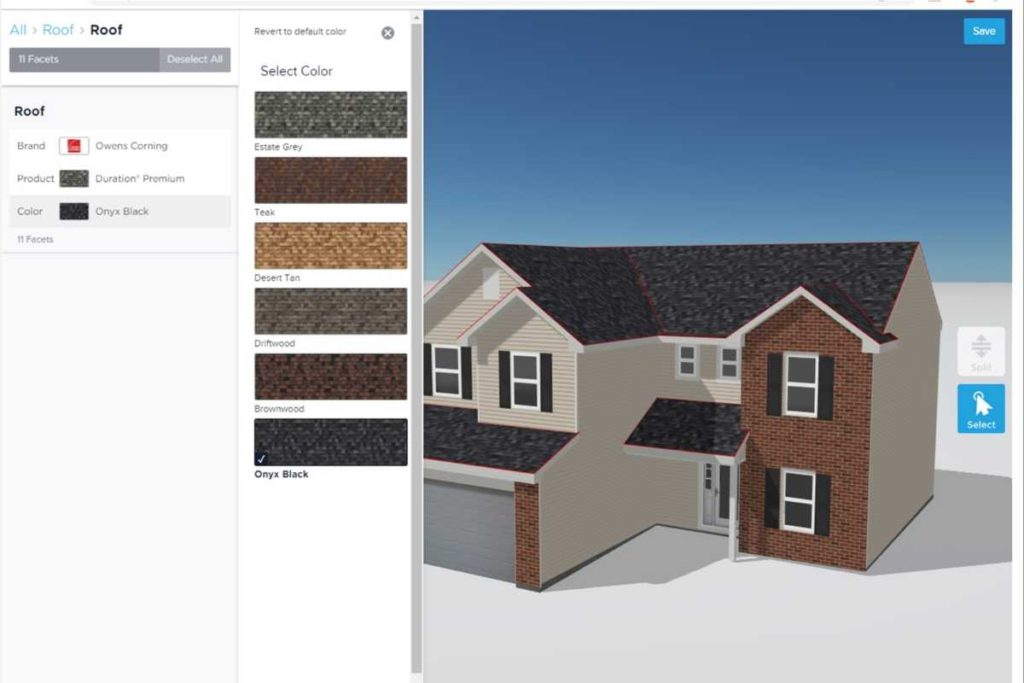 HOVER accurate roof measurement used by Green Eco Solutions