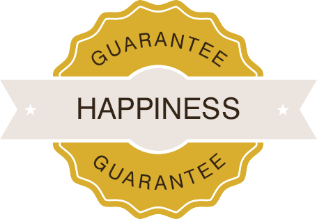 Homeowner Happiness Guarentee Seal Of Approval