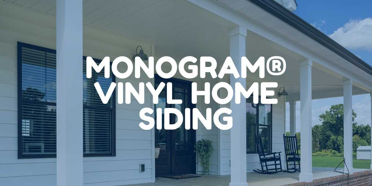 Monogram Vinyl Home Siding from Green Eco Solutions
