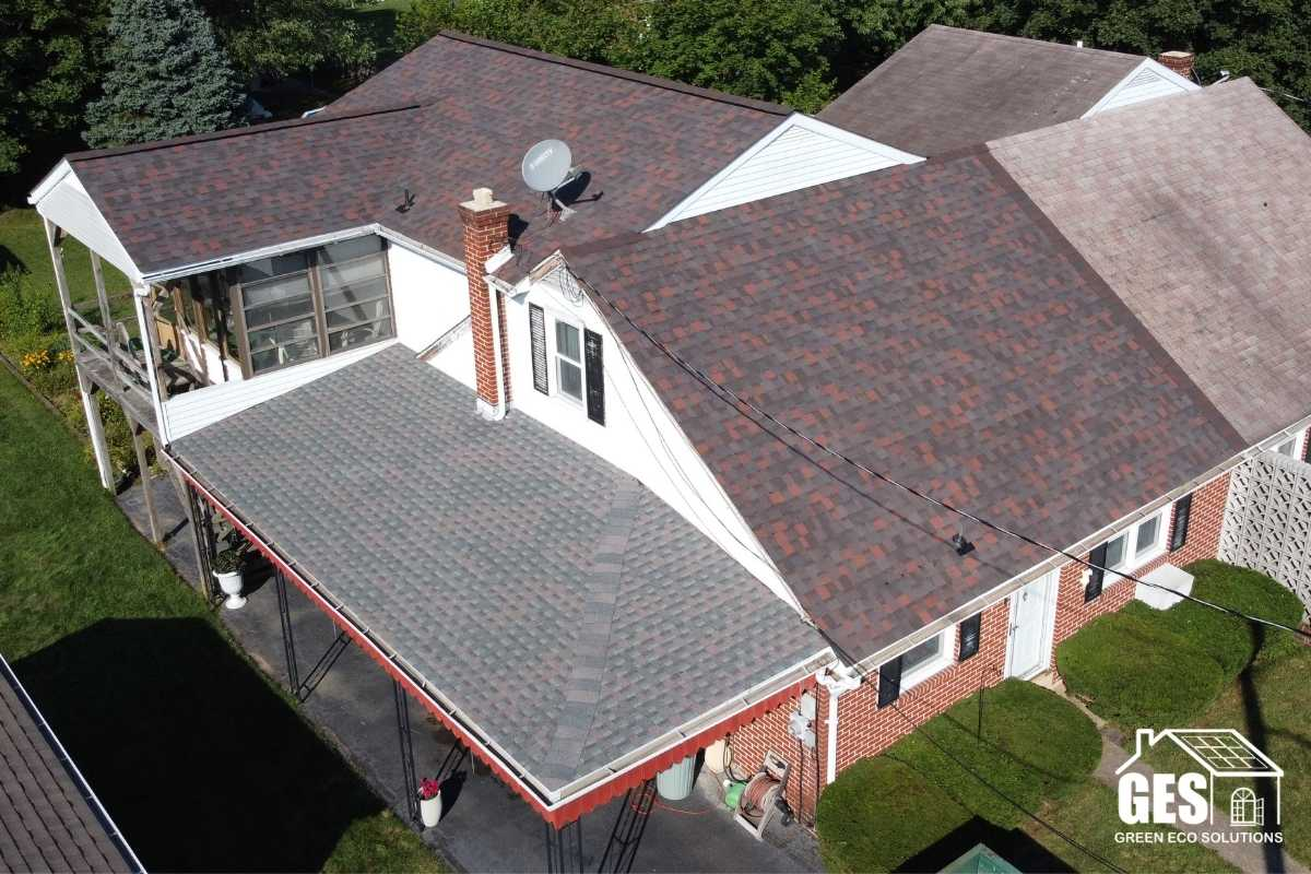 property protection during roof install