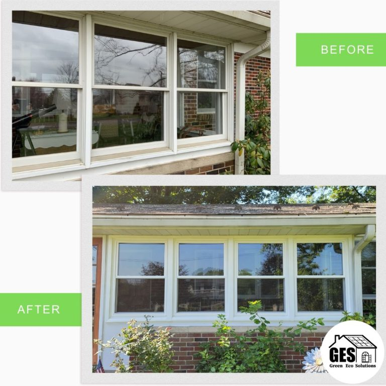 Window Replacement Residential Home in Easton, PA