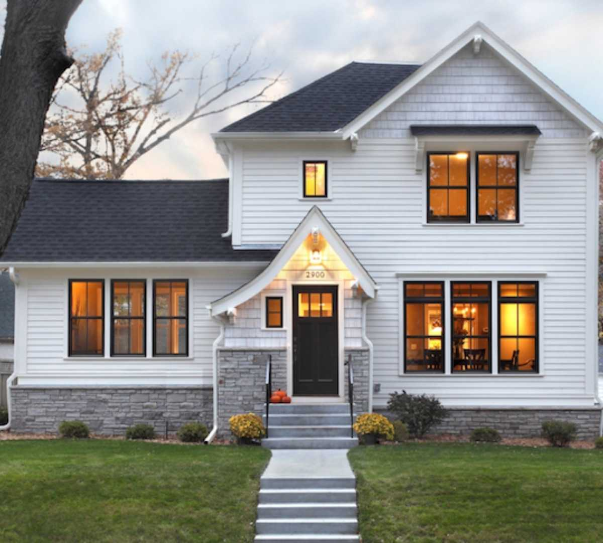replacement windows roofing and doors on dream home by Green Eco Solutions